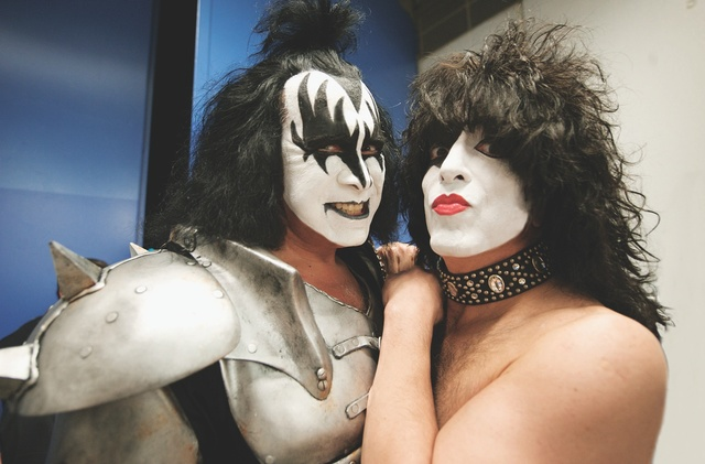 Gene Simmons  left  and Paul Stanley co-founded the band Kiss in 1973    Paul Stanley 1973