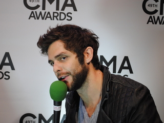Thomas Rhett on performing with Fall Out Boy