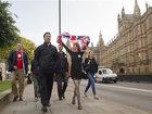 Britons celebrate, bemoan EU exit vote
