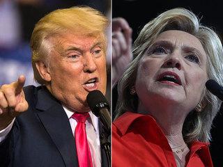 Clinton and Trump final debate