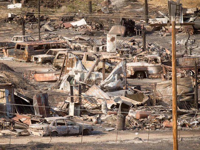 Blue Cut Fire 73 percent contained; 105 homes destroyed, official says