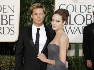 Jolie and Pitt's romance bookended by films