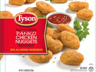 Tyson issues recall for chicken nuggets