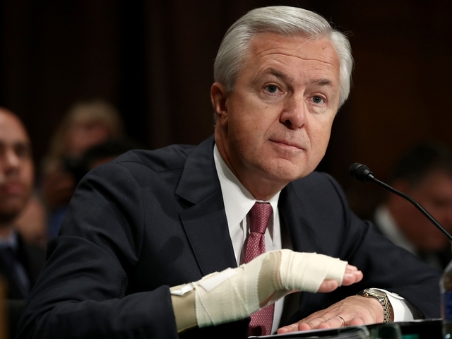 Wells Fargo CEO forfeits $41 million in pay in wake of scandal