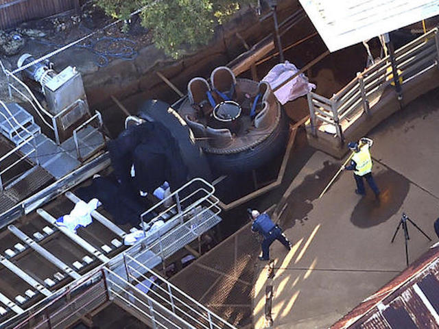 Four die in Australia theme park disaster