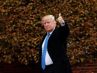 Trump introduces pick for defense secretary