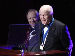 Astronaut, Sen. John Glenn hospitalized
