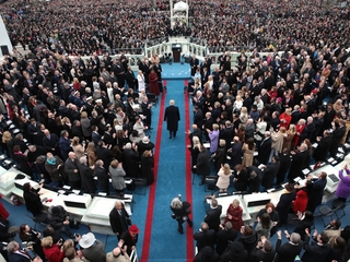 Millions watched Trump's inauguration from home