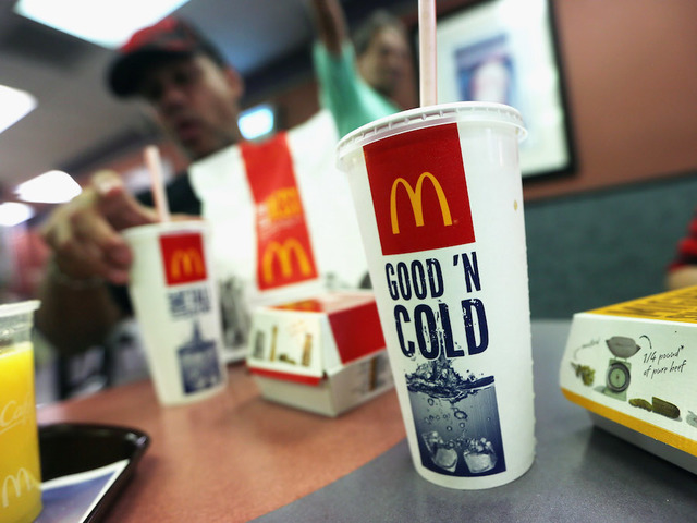 McDonald's Is Cutting Prices On Drinks