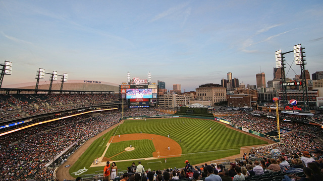 Detroit Tigers 2017 Opening Day Where To Park For The Game