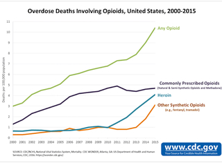 63 percent of overdose deaths caused by opioids