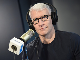 Anderson Cooper sorry for making 'crude' remark