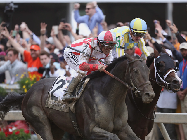 Cloud Computing holds off Classic Empire to win Preakness