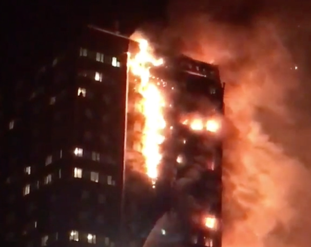 Death toll from London tower block blaze rises to 17