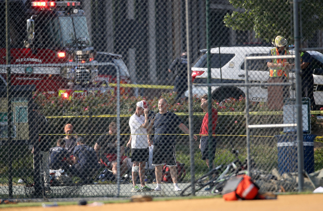 At least 3 MI  congressmen at shooting at baseball practice