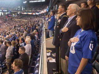 US Reps urge VP Pence to pay Colts game costs