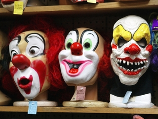 Are clowns too creepy for kid's parties?