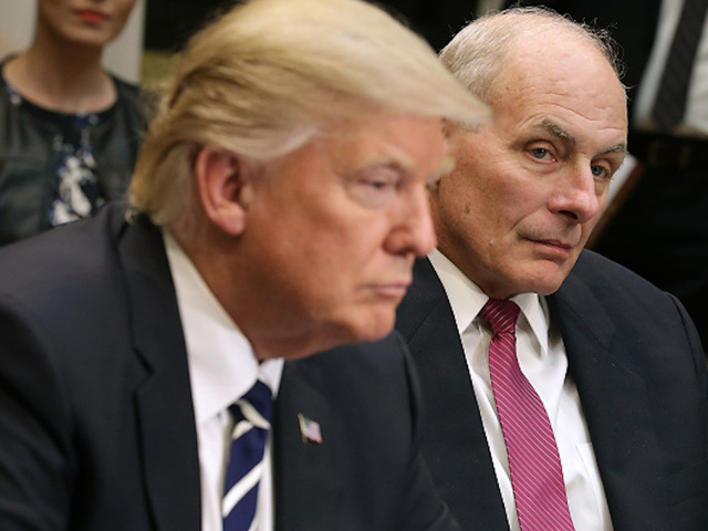 Kelly loses White House clout as Trump blazes own path