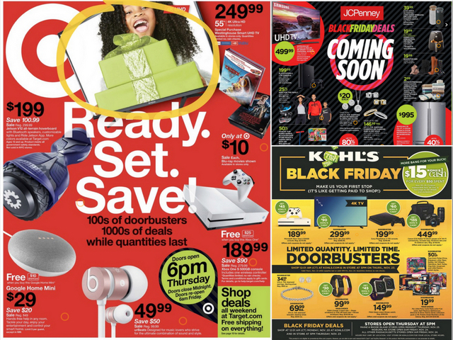 Black Friday 2017 Deals Circulars For Walmart Best Buy Target And More