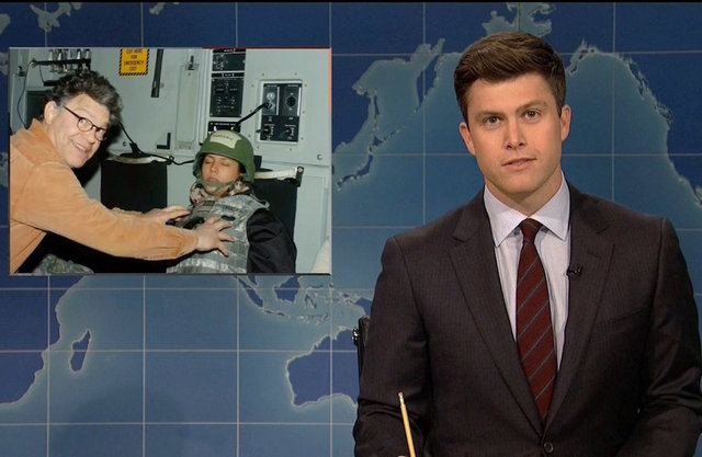 Colin Jost co-host of