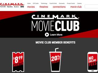 Cinemark launches Netflix-like subscription plan