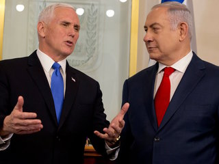 Mike Pence calls Jerusalem 'Israel's capital'