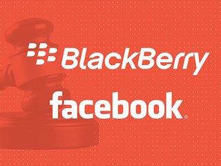 BlackBerry suing Facebook