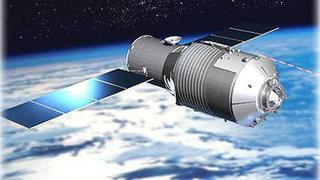 Chinese spacecraft tumbling toward Earth