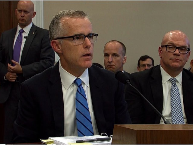 DOJ Report: Andrew McCabe Lacked Candor Several Times, Even Under Oath