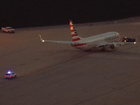 Passenger falls in on American Airlines flight