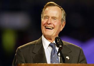 Presidents, others praise late President Bush
